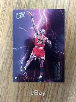 1993-94 Fleer Ultra Michael Jordan rare'scoring kings' insert card #5 of 10