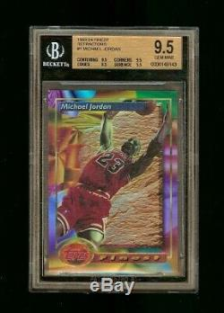 1993 MICHAEL JORDAN FINEST REFRACTOR #1 BGS 9.5+ (Extremely Rare 9.5 X 4)