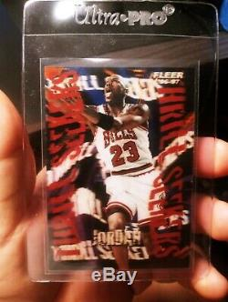 1996-97 Fleer Thrill Seekers Michael Jordan/From My Personal Collection RARE