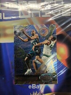 1997-98 Skybox Metal Universe basketball Case Topper Poster PMG Sell Sheet RARE