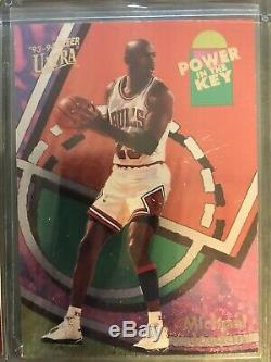90s Michael Jordan RARE Inserts In Mint To NM Condition 9 Card Lot