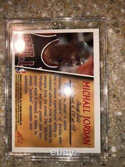 Michael Jordan 1996-97 Topps Holding Court Refractor With Coating Rare