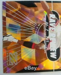 Michael Jordan 1998-99 SkyBox Z-Force Rave Review Rare Hard To Find Card -A Gem