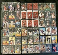 Michael Jordan Amazing Rare Card Lot (381 Cards) 27 Year Old Collection
