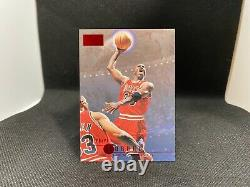 Michael Jordan Card 1996 Skybox Ruby Red RARE Ready to be graded