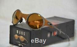 OAKLEY MARS MICHAEL JORDAN Model LEATHER Sunglasses With Soft Case Very Rare